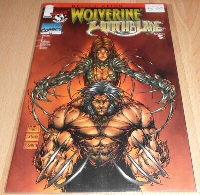Devil's Reign (1997) #5...Wolverine/Witchblade...Published Mar 1997 by Marvel