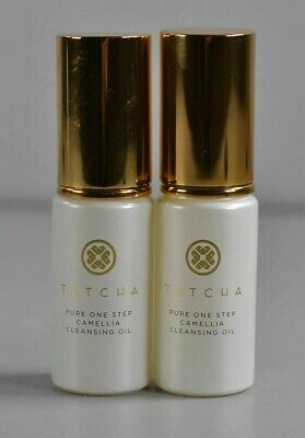 Lot of 2 Tatcha Pure One Step Camellia Cleansing Oil .8oz / 25ml - NO Box