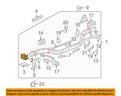 Incredible Gm Oem Frame Bumper Bracket Right 25931014 30 57 Picclick Wiring 101 Capemaxxcnl