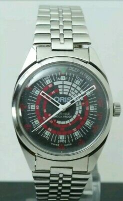 Swiss Made ORIS vintage,                 Hand winding, 35 mm, FHF ST-96, WORKING