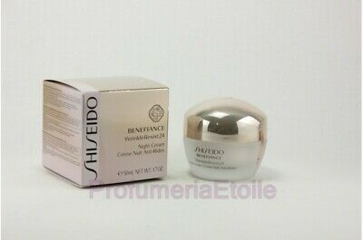 Shiseido Benefiance Wrinkleresist24 Night Cream 50Ml Crema Anti-Eta' Da Notte