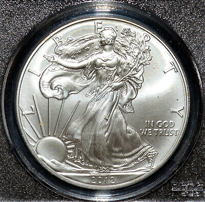 A- 2012 (S) Silver Eagle $1 PCGS MS-69 First Strike Certified 1 oz .999 Bullion