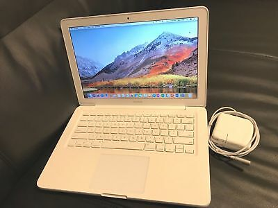 """Apple MacBook White 13"""" New 500GB HDD 2.26 GHz 4GB RAM LATEST OS 2017+ Software"""