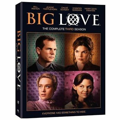Big Love: The Complete Third Season (DVD, 2009, 4-Disc Set) Secrets Hidden,Drama