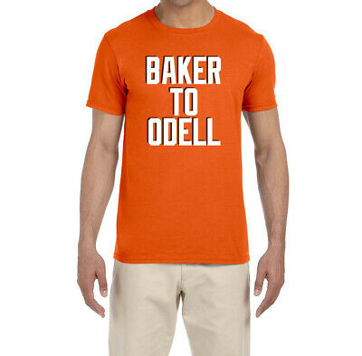 best sneakers 2ebfe 7bc58 CLEVELAND BROWNS BAKER Mayfield To Odell Beckham Jr T-Shirt