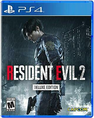*NEW* Resident Evil 2 Deluxe Edition Remake (Playstation 4, 2019) PS4