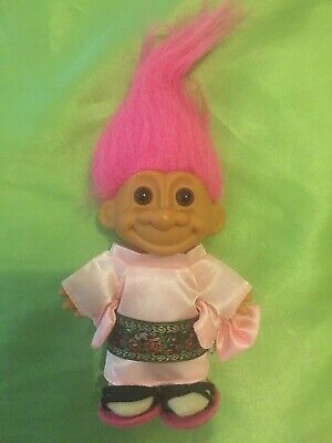 Russ Troll Doll  JAPAN Around The World series original collect PINK HAIR