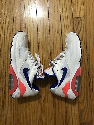 info for 9ff06 08ee7 Nike Air Max 180 Ultramarine White Solar Red OG 615287-100 Men Size 9 1