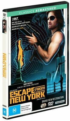 Escape From New York (DVD, 2019) (Region 4) New Release