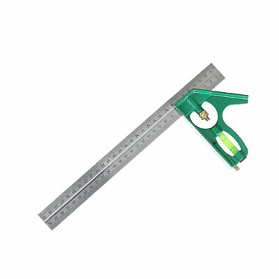 GN- alloy Combination Square Ruler Measuring Protractor Gauge Meter