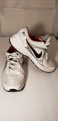 best service 10e46 1249e Nike Air Max Run Lite 2 Boy s White Red Black Athletic Shoes Size 7Y  429720