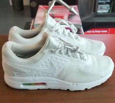 NIKE AIR MAX Zero QS Be True 789695 101 WHITE PLATINUM AIR