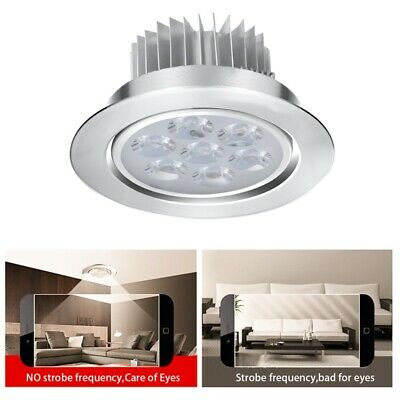 1/5/10Pcs Dimmable 3W 5W 7W LED Recessed Ceiling Light Downlight Lamp Spotlight