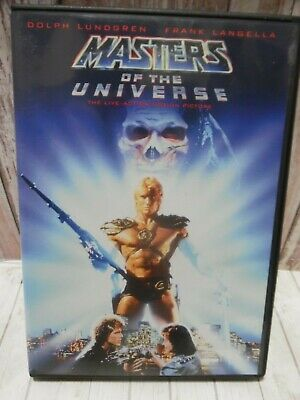 *NEAR MINT* Masters of the Universe {DVD 2001} Dolph Lundgren Courtney Cox 1987
