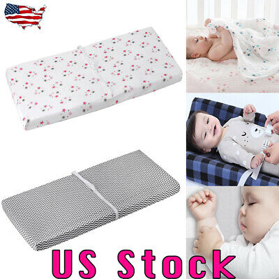 Portable Baby Pillow Sleeping Cushion Pad Newborn Crib Nest Bed Mattress Padded