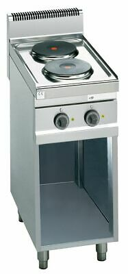 Electric Stove with 2 round Hot Plates ( Ø220 mm)