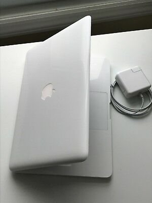 "Apple MacBook White 13"" MC207LL/A 500GB HDD / 8GB Ram/ LATEST MAC OS 2017-Office"