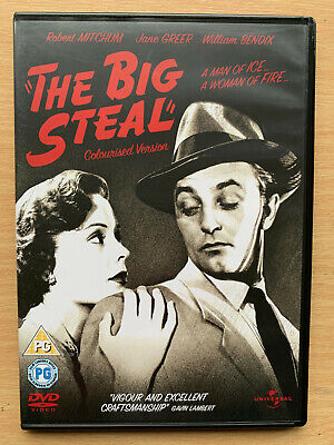 The Big Steal DVD 1949 Film Noir Classic with Robert Mitchum + Jane Greer