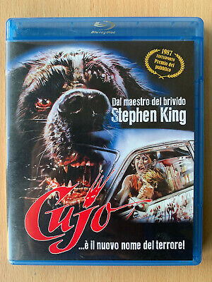 Cujo Blu-ray 1983 Stephen King Rabid St Bernard Dog Horror Classic