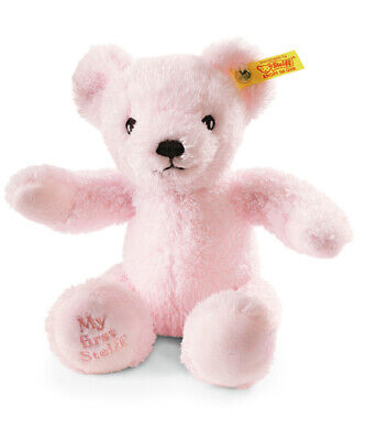 My First Steiff Teddy Bear in Pink with Gift Box EAN 664717