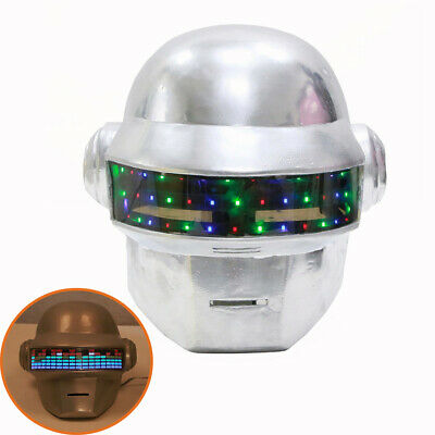 DAFT PUNK HELMET Thomas Bangalter Mask Halloween Cosplay