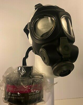 Scott M95 Military Gas Mask / Respirator + Original NOS 40mm NATO Filter