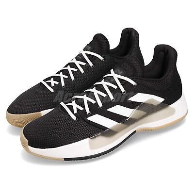 0f217800cadd adidas Pro Bounce Madness Low 2019 Black White Grey Men Basketball Shoes  BB9280
