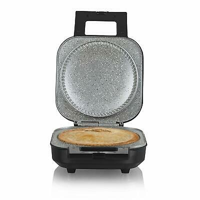 TOWER T27006 Large Pie Maker Non Stick Easy Clean Deep Fill Baker- (Black),1200W