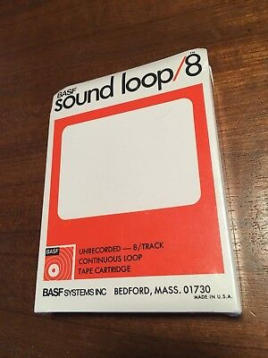 BASF Sound Loop /8 NOS lubrificated For Space Echos (395ft = 120m)