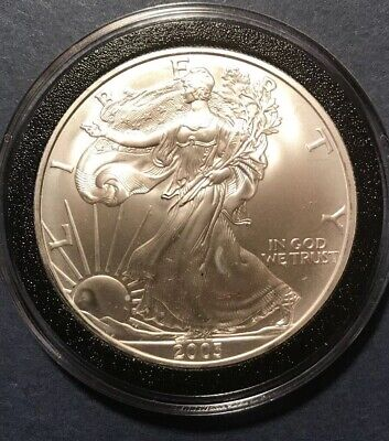 2003 American Silver Eagle BU 1 oz US $1 Dollar Uncirculated Brilliant Mint
