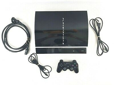 Sony Playstation 3 PS3 CECHH02 200 GB console - Controller - Power Cable - HDMI