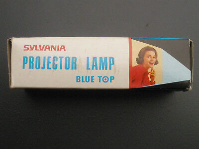 Sylvania Projector Lamp - Blue Top - SYL-186 - 12V-100W - Made in Japan
