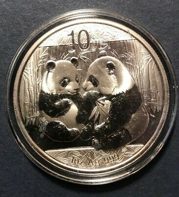 China 2009 Successful Inauguration of CHINEXT Panda Silver Coin 1oz 10 Yuan COA