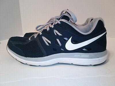super popular a9965 fd033 Mens Nike Dual Fusion Lite Running Shoes 559513-410 Blue Lt Grey Size 8