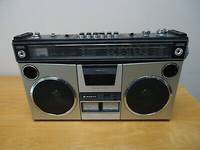 sanyo m 4500 k boombox ghettoblaster,  part working