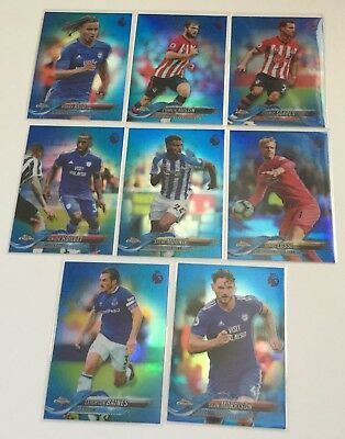 2018-19 Topps Chrome Premier League - BLUE Refractor Parallels  - Choose Cards .