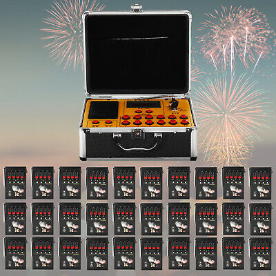 120 Cues Fireworks Firing System Electric Control Digital AC Smart Wedding