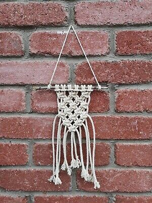 Handmade Macrame wall hanging Boho Wall Decor Home Accessories 100% Cotton