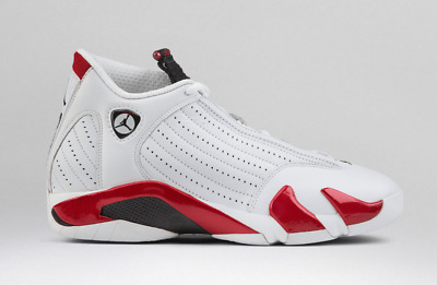low priced b2b35 c87e8 NEW DS 2019 Nike AIR JORDAN RETRO 14 Rip Hamilton Candy Cane Red 487471-100
