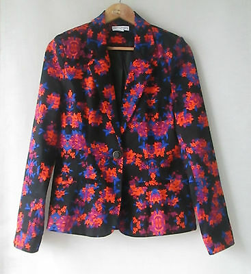 Jacket Floral Size 10 Cotton On As New