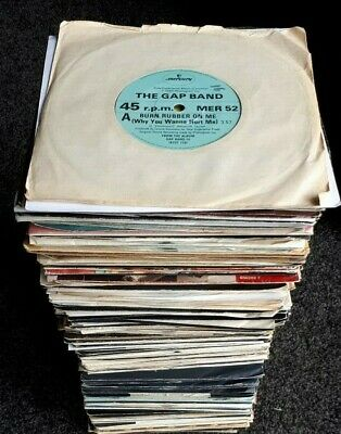 JOB LOT 200 x R&B / SOUL / MOTOWN / FUNK  / DISCO SINGLES *LOOK ALL LISTED*