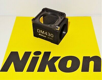 Nikon DM430 Fluorescent  Microscope Filter Block for Labophot, Optiphot, TMD
