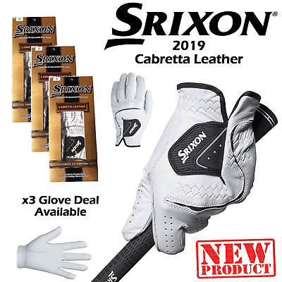 Srixon Golf Gloves Mens Cabretta Leather Golf Glove New 2019 All Sizes