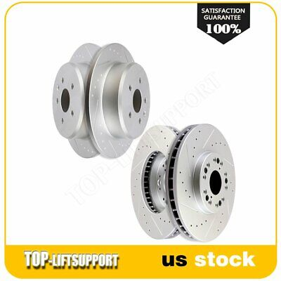 Set of 4 Meyle Brake Rotors 2-Front /& 2Rear for GS300 GS400 GS430 IS300 SC430
