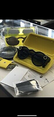 Snapchat Spectacles Sunglasses- Onyx Black
