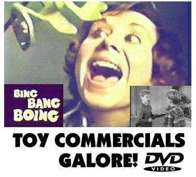 TOY COMMERCIALS GALORE!   DVD Two full hours chock full of vintage old school