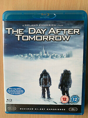 The Day After Tomorrow Blu-ray 2004 Extreme Weather Disaster Movie Action Film
