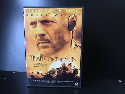 Tears of The Sun Special Edition Widescreen DVD