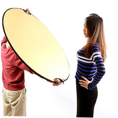 5 in 1 Round Disk Photography Studio Light Mulit Collapsible disc Reflector FG