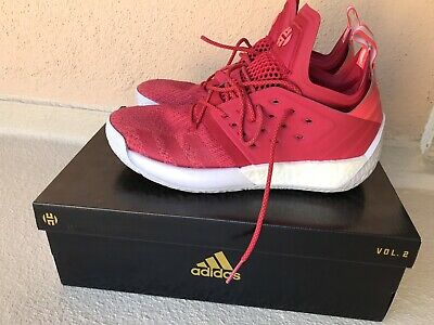 new style 1d338 7ca3a Adidas James Harden Vol. 2 Red grey